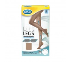 medias light legs dr scholl 20 deniers Color Carne