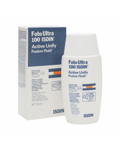 Isdin Foto Ultra 100 Active Unify Fusion Fluid SPF50+ 50ml