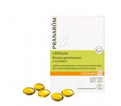 Pranarôm Oleocaps 2 Alivio Gastrointestinal 30 cáps.