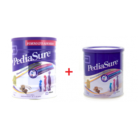 Pediasure Chocolate 850g + 400g de Regalo