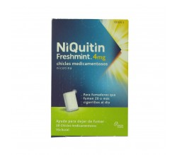 Niquitin Freshmint Gums 4 mg 100 Chicles