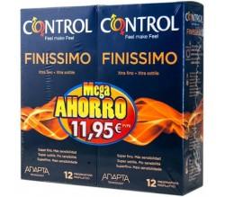 Control Finissimo Duplo 12 + 12 Unidades