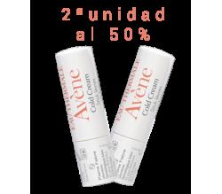 Avene Duplo Cold Cream Stick Labial Nutritivo 4g 2ªUd al 50%