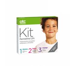 OTC Antipiojos KIT 123 Loción + Acondicionador + Spray