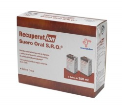recuperation suero oral cola 2x250ml