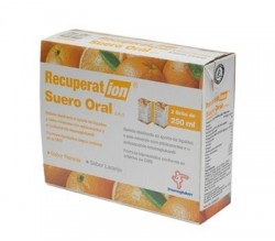 recuperation suero oral naranja 2x250ml