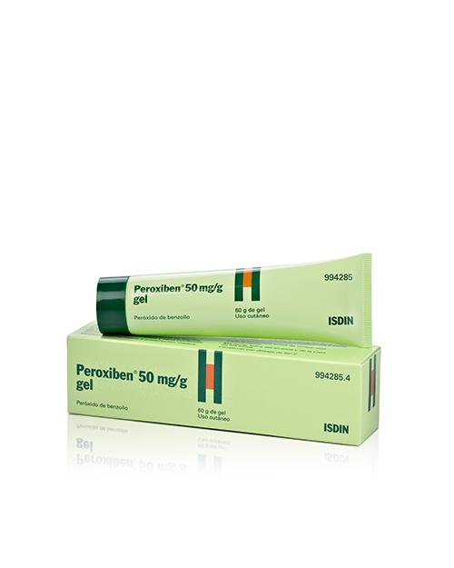 peroxiben (50 mg/g gel topico 60 g )