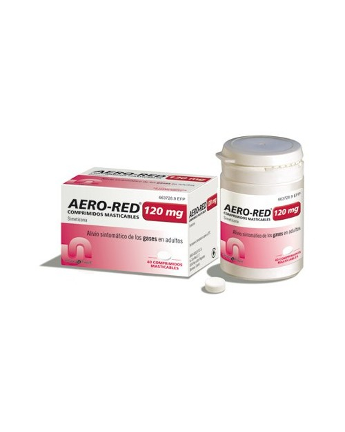 aero red (120 mg 40 comprimidos masticables )