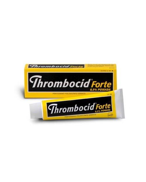 thrombocid forte (5 mg/g pomada 1 tubo 60 g )