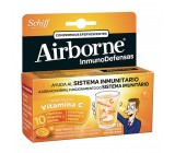 Airborne 10 comprimidos efervescentes sabor naranja