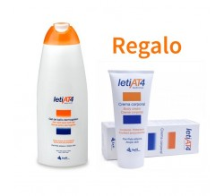 Pack letiAT4 Gel de baño+ regalo Crema corporal