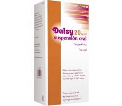 DALSY (20 MG/ML SUSPENSION ORAL 200 ML )