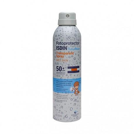 Fotoprotector ISDIN Trasparent Wet Skin pediatrics SPF50