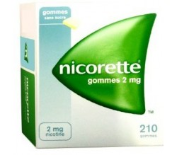 NICORETTE (2 MG 210 CHICLES )