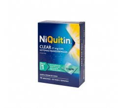 NIQUITIN CLEAR (21 MG/24 H 14 PARCHES TRANSDERMICOS 114 MG )
