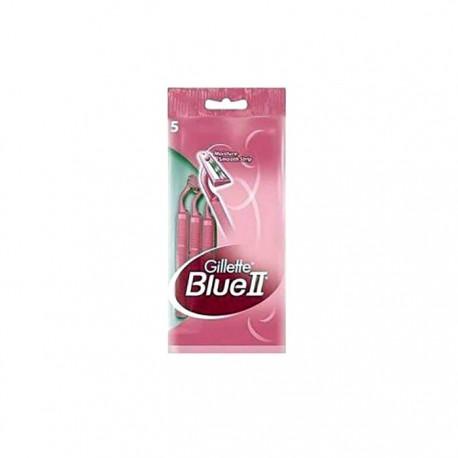 Gillette Blue II Woman Pack 5uds
