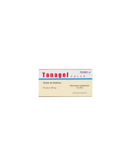 TANAGEL (250 MG 20 SOBRES )