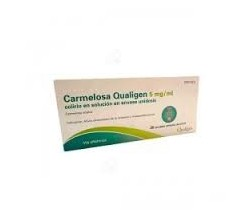 CARMELOSA QUALIGEN (5 MG/ML COLIRIO 30 MONODOSIS SOLUCION 0.4 ML )