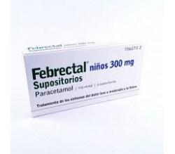 FEBRECTAL INFANTIL (300 MG 6 SUPOSITORIOS )