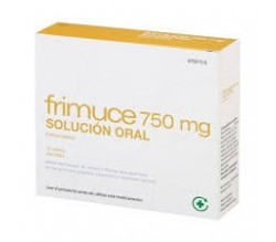 FRIMUCE (750 MG 12 SOBRES SOLUCION ORAL 15 ML )
