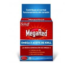 MEGARED 500 OMEGA 3 ACEITE DE KRILL 20 CAPSULAS