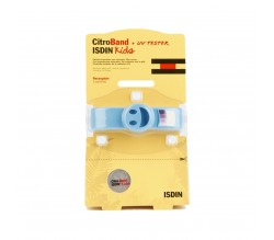 Isdin CitroBand Kids UV tester pulsera recargable 2 pastillas