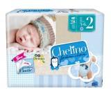 pañal t2 infantil chelino fashion & love 3-6 kg 28u